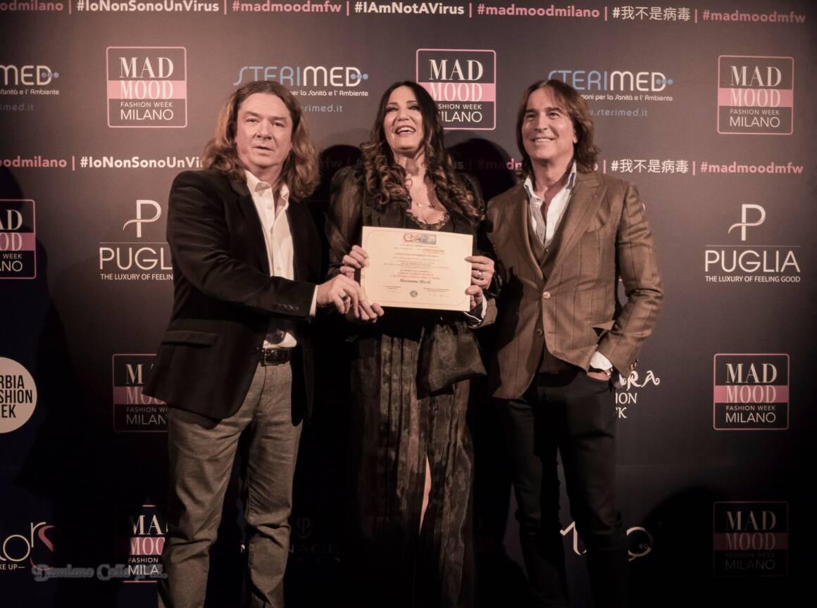 """Attestato Marianna Miceli c 1 1160x864 - Mad Mood. Sfilata """"unconventional"""" alla settimana della moda milanese"""