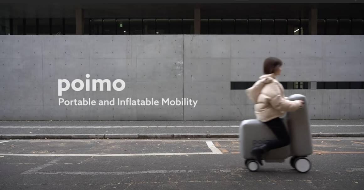 arriva lo e scooter gonfiabile poimo che rivoluziona la mobilita delle smart city 1160x608 - Arriva lo e-scooter gonfiabile Poimo che rivoluziona la mobilità delle smart city
