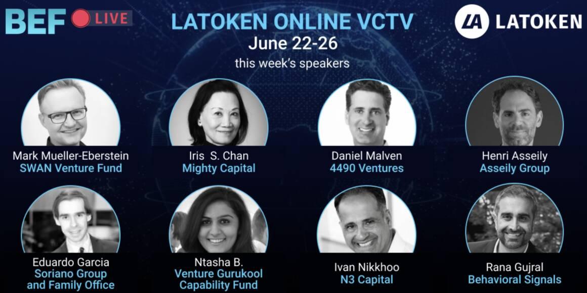 latoken vctv annuncio settimanale 22 26 giugno 1160x580 - LATOKEN VCTV ANNUNCIO SETTIMANALE  (22-26 giugno)