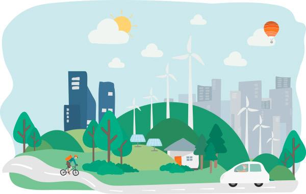 smafely smart working green city - Lo smart working interpretato dal software di Stantec