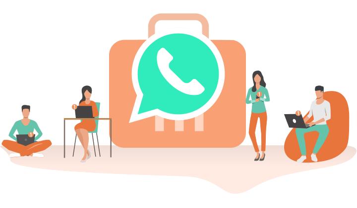 WhatsApp Business, chat con codici QR