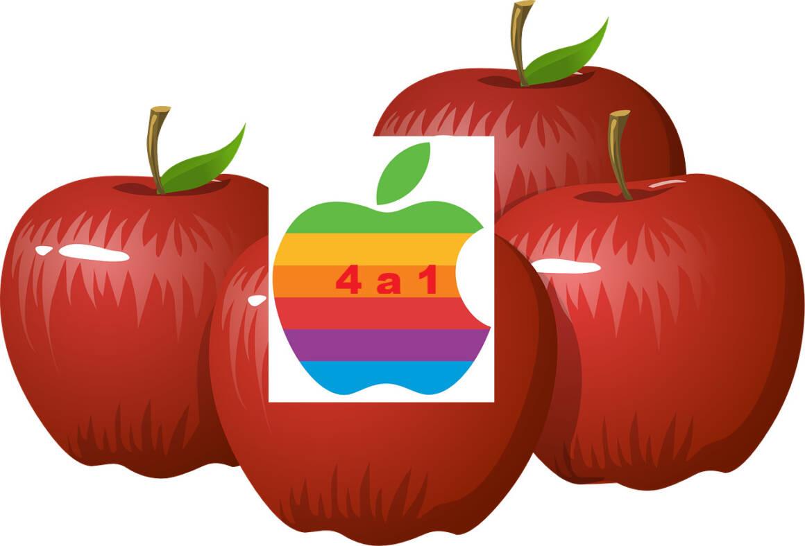 apples 575317 1280 1160x788 - Lo split Apple. Che cosa significa per i risparmiatori?