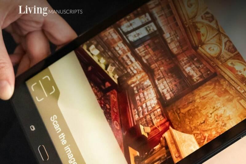 """L'app """"Manoscritti viventi"""" conquista studiosi ed appassionati d'arte"""