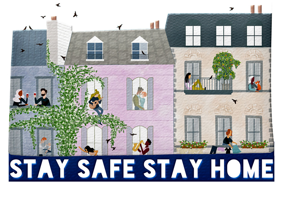 stay home stay safe 5166519 1280 1 1 - DIVIETI NUOVO DPCM. In vigore dal 5 nOvEmbrE 2020